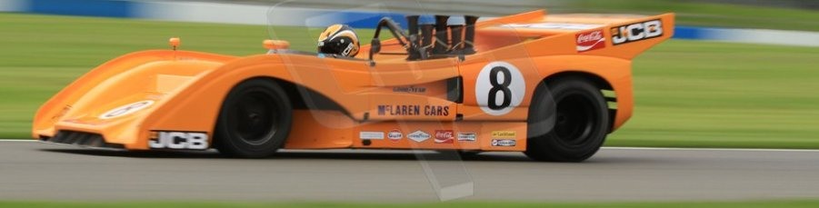 World © Octane Photographic Ltd. 5th June 2014, Donington Park general unsilenced test.  McLaren M8F/P - Andy Newall. Digital Ref : 0976CB7D5642