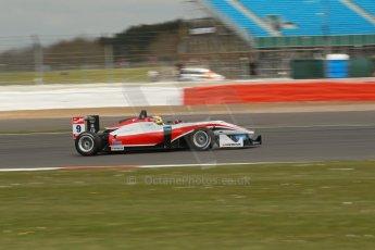 World © Octane Photographic Ltd. FIA European F3 Championship, Silverstone, UK, April 18th 2014 - Qualifying sessions. Fortec Motorsports – Mercedes. Dallara F312 – Mitch Gilbert. Digital Ref : 0908lb1d0957