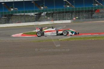 World © Octane Photographic Ltd. FIA European F3 Championship, Silverstone, UK, April 18th 2014 - Qualifying sessions. Prema Powerteam - Dallara F312 Mercedes – Nicholas Latifi. Digital Ref : 0908lb1d1169