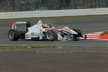 World © Octane Photographic Ltd. FIA European F3 Championship, Silverstone, UK, April 18th 2014 - Qualifying sessions. Threebond with T-Sport – Dallara F312 NBE – Alexander Toril. Digital Ref : 0908lb1d6581