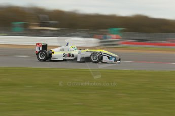 "World © Octane Photographic Ltd. FIA European F3 Championship, Silverstone, UK, April 19th 2014 - Race 1. Threebond with T-Sport – Dallara F312 NBE – Richard ""Spike"" Goddard. Digital Ref : 0909lb1d1195"