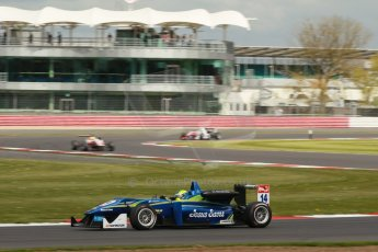 World © Octane Photographic Ltd. FIA European F3 Championship, Silverstone, UK, April 19th 2014 - Race 2. Double R Racing – Dallara F312 Mercedes – Felipe Guimaraes. Digital Ref : 0910lb1d1365