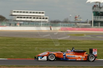 World © Octane Photographic Ltd. FIA European F3 Championship, Silverstone, UK, April 19th 2014 - Race 2. kfzteile24 Mücke Motorsport – Dallara F312 Mercedes – Roy Nissany. Digital Ref : 0910lb1d1373