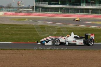 World © Octane Photographic Ltd. FIA European F3 Championship, Silverstone, UK, April 19th 2014 - Race 2. Threebond with T-Sport – Dallara F312 NBE – Alexander Toril. Digital Ref : 0910lb1d1400