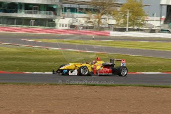 World © Octane Photographic Ltd. FIA European F3 Championship, Silverstone, UK, April 19th 2014 - Race 2. Jagonya Ayam with Carlin – Dallara F312 Volkswagen – Sean Gelael. Digital Ref : 0910lb1d1409