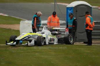 """World © Octane Photographic Ltd. FIA European F3 Championship, Silverstone, UK, April 19th 2014 - Race 2. Threebond with T-Sport – Dallara F312 NBE – Richard """"Spike"""" Goddard. Digital Ref : 0910lb1d1413"""