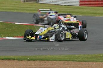 World © Octane Photographic Ltd. FIA European F3 Championship, Silverstone, UK, April 19th 2014 - Race 2. Van Amersfoort Racing – Dallara F312 Volkswagen – Gustavo Menezes. Digital Ref : 0910lb1d7318