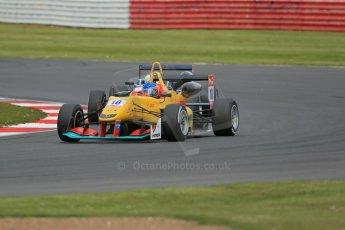 World © Octane Photographic Ltd. FIA European F3 Championship, Silverstone, UK, April 19th 2014 - Race 2. Jo Zeller Racing – Dallara F312 Mercedes - Tatiana Calderon. Digital Ref : 0910lb1d7417