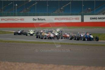 World © Octane Photographic Ltd. FIA European F3 Championship, Silverstone, UK, April 20th 2014 - Race 3. Fortec Motorsports – Mercedes – John Bryant-Meisner. Digital Ref : 0911lb1d1566