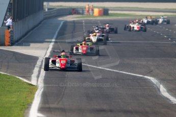 World © MaltaFormulaRacing. FIA F4 Italia Adria International Speedway - June 8th 2014. Tatuus F4 T014 Abarth. Digital Ref : 0989MS7522