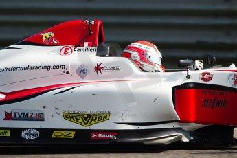 World © MaltaFormulaRacing. FIA F4 Italia Adria International Speedway - June 8th 2014. Tatuus F4 T014 Abarth. Digital Ref : 0989MS7958