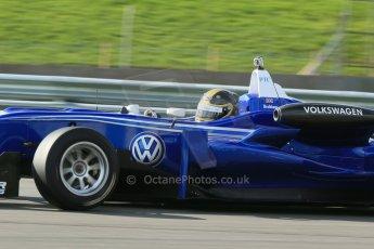 World © Octane Photographic Ltd. Cooper Tyres British Formula 3 Media Day, Castle Donington, Tuesday 8th April 2014. Carlin - Dallara F310 Volkwagen - Sam Brabham. Digital Ref : 0903lb1d3772