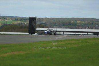 World © Octane Photographic Ltd. Cooper Tyres British Formula 3 Media Day, Castle Donington, Tuesday 8th April 2014. Carlin - Dallara F310 Volkwagen - Sam Brabham. Digital Ref : 0903lb1d3888