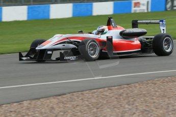 World © Octane Photographic Ltd. Cooper Tyres British Formula 3 Media Day, Castle Donington, Tuesday 8th April 2014. Fortec Motorsports - Dallara F312 Mercedes HWA – Matt Rao. Digital Ref : 0903lb1d4070