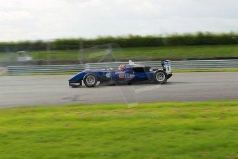 World © Octane Photographic Ltd. Cooper Tyres British Formula 3 Media Day, Castle Donington, Tuesday 8th April 2014. Carlin - Dallara F310 Volkwagen - Peter Li Zhi Cong. Digital Ref : 0903lb1d9786