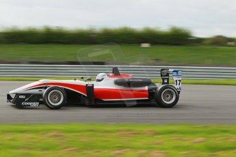 World © Octane Photographic Ltd. Cooper Tyres British Formula 3 Media Day, Castle Donington, Tuesday 8th April 2014. Fortec Motorsports - Dallara F312 Mercedes HWA – Alex Gill. Digital Ref : 0903lb1d9818