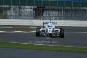 World © Octane Photographic Ltd. BRDC Formula 4 Qualifying, Silverstone, UK, Saturday 16th August 2014. MSV F4-013. Douglas Motorsport. Rodrigo Fonseca. Digital Ref : 1075LB1D4692