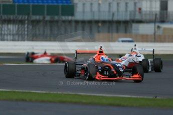 World © Octane Photographic Ltd. BRDC Formula 4 Qualifying, Silverstone, UK, Saturday 16th August 2014. MSV F4-013. Chris Middlehurst and Douglas Motorsport. Charlie Eastwood. Digital Ref : 1075LB1D4720