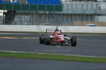 World © Octane Photographic Ltd. BRDC Formula 4 Qualifying, Silverstone, UK, Saturday 16th August 2014. MSV F4-013. Hillspeed. Alfredo Zabalza. Digital Ref : 1075LB1D4726