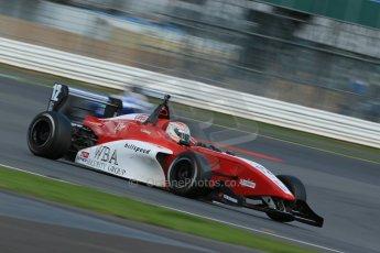 World © Octane Photographic Ltd. BRDC Formula 4 Qualifying, Silverstone, UK, Saturday 16th August 2014. MSV F4-013. Hillspeed. Alfredo Zabalza. Digital Ref : 1075LB1D4847