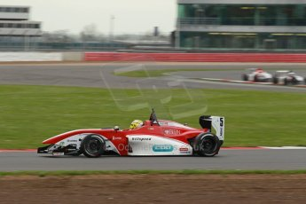 World © Octane Photographic Ltd. BRDC Formula 4 Championship. MSV F4-013. Silverstone, Sunday 27th April 2014. Hillspeed - Gustavo Lima. Digital Ref : 0914lb1d2114