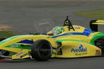 World © Octane Photographic Ltd. BRDC Formula 4 Championship. MSV F4-013. Silverstone, Sunday 27th April 2014. Petroball Racing – Gaetano di Mauro. Digital Ref : 0916lb1d0001