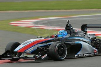World © Octane Photographic Ltd. BRDC Formula 4 Championship. MSV F4-013. Silverstone, Sunday 27th April 2014. Sean Walkinshaw Racing (SWR) – Jordan Albert. Digital Ref : 0916lb1d0004
