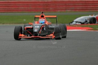World © Octane Photographic Ltd. BRDC Formula 4 Championship. MSV F4-013. Silverstone, Sunday 27th April 2014. Mark Godwin Racing (MGR) - Chris Middlehurst. Digital Ref : 0916lb1d9603