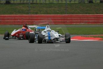 World © Octane Photographic Ltd. BRDC Formula 4 Championship. MSV F4-013. Silverstone, Sunday 27th April 2014. Douglas Motorsport - Rodrigo Fonseca. Digital Ref : 0916lb1d9605