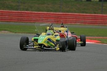 World © Octane Photographic Ltd. BRDC Formula 4 Championship. MSV F4-013. Silverstone, Sunday 27th April 2014. Petroball Racing – Gaetano di Mauro. Digital Ref : 0916lb1d9629