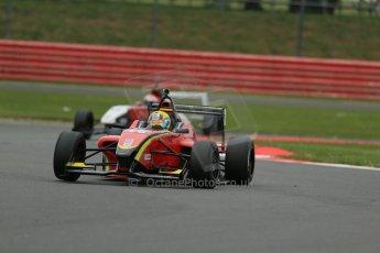 World © Octane Photographic Ltd. BRDC Formula 4 Championship. MSV F4-013. Silverstone, Sunday 27th April 2014. Chris Dittmann Racing (CDR) - Tom Jackson. Digital Ref : 0916lb1d9632