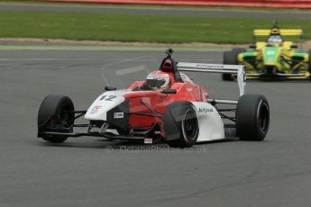 World © Octane Photographic Ltd. BRDC Formula 4 Championship. MSV F4-013. Silverstone, Sunday 27th April 2014. Hillspeed - Alfredo Zabalza. Digital Ref : 0916lb1d9737