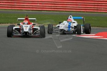 World © Octane Photographic Ltd. BRDC Formula 4 Championship. MSV F4-013. Silverstone, Sunday 27th April 2014. Lanan Racing - Arjun Maini. Digital Ref : 0916lb1d9783