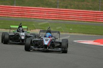 World © Octane Photographic Ltd. BRDC Formula 4 Championship. MSV F4-013. Silverstone, Sunday 27th April 2014. Sean Walkinshaw Racing (SWR) – Jordan Albert. Digital Ref : 0916lb1d9848