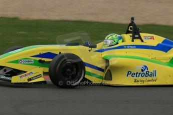 World © Octane Photographic Ltd. BRDC Formula 4 Championship. MSV F4-013. Silverstone, Sunday 27th April 2014. Petroball Racing – Gaetano di Mauro. Digital Ref : 0916lb1d9922