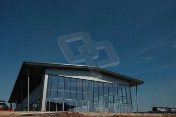 World © Octane Photographic Ltd. 3rd May 2014 - FIA Formula E Head Quarters under construction - Donington Park. Digital Ref : 0890cb1d2778