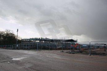 World © Octane Photographic Ltd. 27th February 2014 - FIA Formula E Head Quarters under construction - Donington Park. Digital Ref : 0890lw1d3033