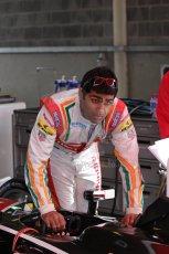 World © Octane Photographic Ltd. FIA Formula E testing – Donington Park 19th August 2014. Spark-Renault SRT_01E. Mahindra Racing - Karun Chandhok. Digital Ref : 1077LB1D5204