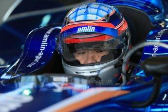 World © Octane Photographic Ltd. FIA Formula E testing – Donington Park 19th August 2014. Spark-Renault SRT_01E. Amlin Aguri – Takuma Sato. Digital Ref : 1077LB1D5476