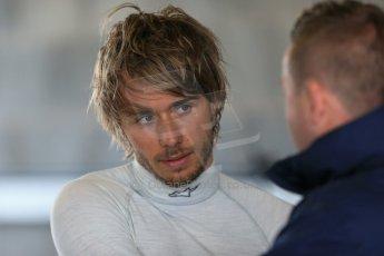 World © Octane Photographic Ltd. FIA Formula E testing – Donington Park 19th August 2014. Spark-Renault SRT_01E. Andretti Autosport – Charles Pic. Digital Ref : 1077LB1D5570