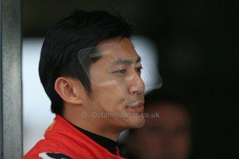 World © Octane Photographic Ltd. FIA Formula E testing – Donington Park 19th August 2014. Spark-Renault SRT_01E. China Racing – Ho Pin Tung. Digital Ref : 1077LB1D5676
