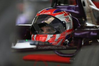 World © Octane Photographic Ltd. FIA Formula E testing – Donington Park 19th August 2014. Spark-Renault SRT_01E. Virgin Racing - Jamie Alguersuari. Digital Ref : 1077LB1D5734