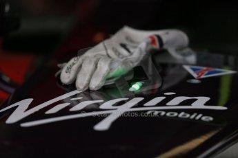 World © Octane Photographic Ltd. FIA Formula E testing – Donington Park 19th August 2014. Spark-Renault SRT_01E. Virgin Racing - Jamie Alguersuari. Digital Ref : 1077LB1D5745