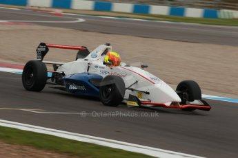 World © Octane Photographic Ltd. Donington Park test, Thursday 17th April 2014. Dunlop MSA Formula Ford Championship of Great Britain. SWB - Greg Holloway – Sinter LA12/Scholar. Digital Ref : 0905lb1d0361
