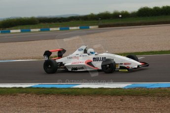 World © Octane Photographic Ltd. Donington Park test, Thursday 17th April 2014. Dunlop MSA Formula Ford Championship of Great Britain. SWB - James Webb – Sinter LA12/Scholar. Digital Ref : 0905lb1d0385