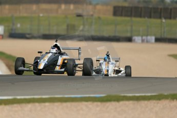 World © Octane Photographic Ltd. Donington Park test, Thursday 17th April 2014. Dunlop MSA Formula Ford Championship of Great Britain. JTR - Jayde Kruger - Mygale M12-SJ/Mountune. Digital Ref : 0905lb1d4232