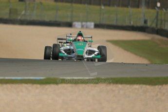 World © Octane Photographic Ltd. Donington Park test, Thursday 17th April 2014. Dunlop MSA Formula Ford Championship of Great Britain. Richardson Racing - Ovie Iroro - Mygale M12-SJ/Scholar. Digital Ref : 0905lb1d4342