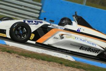 World © Octane Photographic Ltd. Donington Park test, Thursday 17th April 2014. Dunlop MSA Formula Ford Championship of Great Britain. JTR - Max Marshall - Mygale M12-SJ/Mountune. Digital Ref : 0905lb1d4356