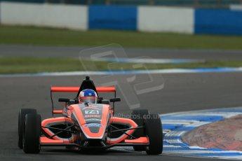 World © Octane Photographic Ltd. Donington Park test, Thursday 17th April 2014. Dunlop MSA Formula Ford Championship of Great Britain. Radical Motorsport - James Abbott - Mygale M12-SJ/Mountune. Digital Ref : 0905lb1d4725
