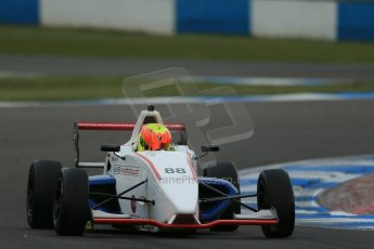 World © Octane Photographic Ltd. Donington Park test, Thursday 17th April 2014. Dunlop MSA Formula Ford Championship of Great Britain. SWB - Greg Holloway – Sinter LA12/Scholar. Digital Ref : 0905lb1d4741